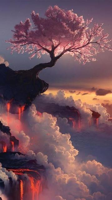 Twitter / PicturesEarth: Fuji volcano with cherry blossom ...   Fuji   Scoop.it