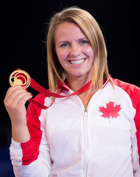Sociology grad wins wrestling gold at Commonwealth Games | UToday | University of Calgary | Campus Alberta Weekly | Scoop.it