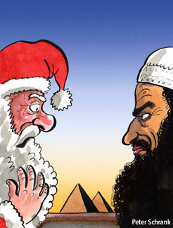 "Not so ""Happy Christmas"" : Why Egypt's Christians are nervous 