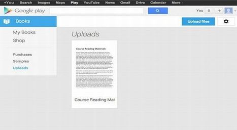 Google Play Books - The Best e-Book Storage Now | Hi-Techs | Ultimate Technology Info and Reviews | Technology | Scoop.it