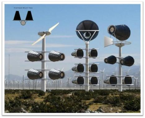"""89 year old man develops a bladeless, bird-friendly wind turbine (it's very quiet too; does it work?"""") 