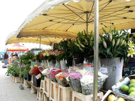 Le Crotoy market day,Somme estuary Picardie France | France travel | Scoop.it