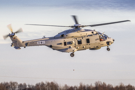 Allemagne: le NH90 navalisé fait son baptême de l'air | DEFENSE NEWS | Scoop.it