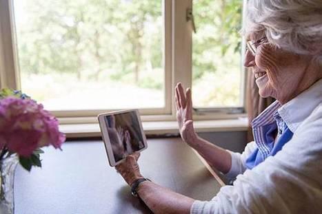 Aider les seniors à se connecter et rompre leur isolement   mutimedia culture et lien social   Scoop.it