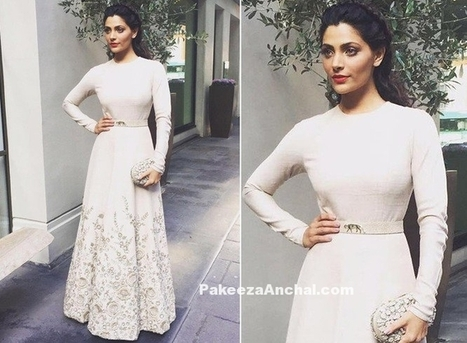 Sayami Kher in Full sleeved Sabyasachi Gown | Indian Fashion Updates | Scoop.it