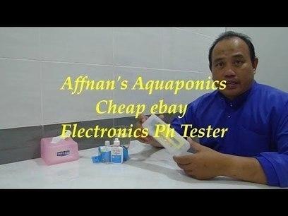 Affnan's Aquaponics - Cheap ebay Electronics PH Tester | Aquaponics~Aquaculture~Fish~Food | Scoop.it