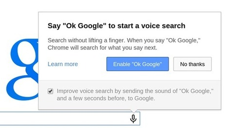Hands-free Google Voice Search in Chrome | GooglePlus Expertise | Scoop.it
