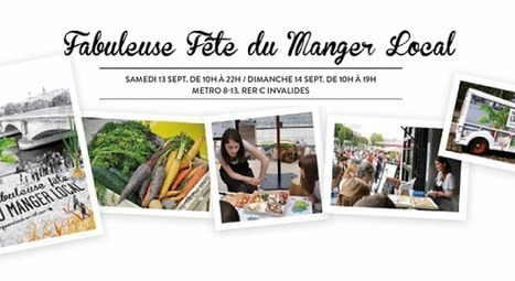 En septembre, Paris célèbre les produits locaux | Marchés forains : au coeur de la solidarité, de l'écologie et du dynamisme économique et culturel | Scoop.it