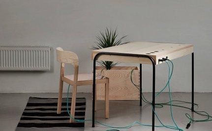 Desk Turns Human Laziness Into Clean Energy | This Gives Me Hope | Scoop.it