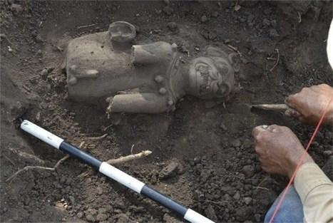Zeldzame jaguarsculpturen van de Maya ontdekt in El Salvador | goossens levi geschiedenis | Scoop.it