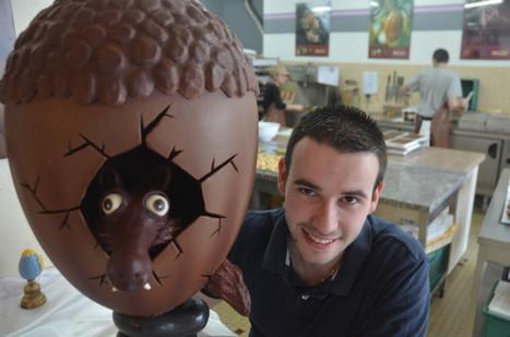 Bellême. Anthony, l'apprenti chocolatier a dépassé le maître | Le Mag ornais.fr | Scoop.it
