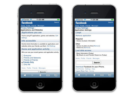 Facebook for iPhone | Facebook Help Center | Facebook | Social Media for Optometry | Scoop.it