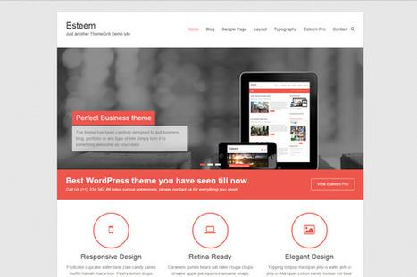 20 thèmes WordPress de qualité gratuits et premium à télécharger | Webdesign, Créativité | Scoop.it