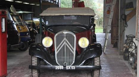 Évron. Une collection de voitures anciennes aux enchères | Voitures anciennes - Classic cars - Concept cars | Scoop.it