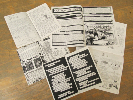 » Why write zines? Modern Books and Manuscripts | Library Collaboration | Scoop.it