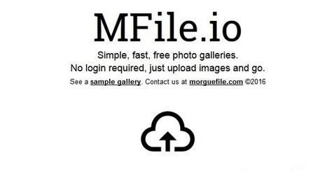 MFile: un service en ligne pour créer facilement des galeries d'images | Freewares | Scoop.it