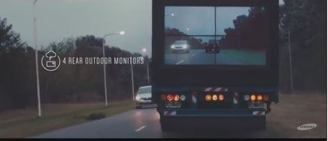VIDEO: Samsung makes big trucks transparent in the name of road safety | Tech Latest | Scoop.it