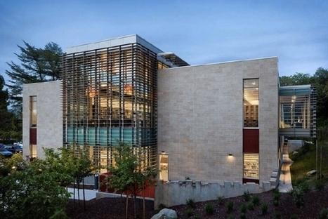 Une bibliothèque écologique et ergonomique à Los Gatos   Architecture des bibliothèques   Scoop.it