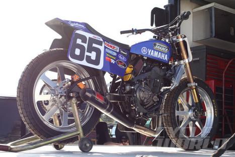 Yamaha FZ-07 Flat Tracker – FIRST RIDE Yamaha's new FZ-07 twin is poised to make a big impact in AMA Pro Flat Track. | California Flat Track Association (CFTA) | Scoop.it
