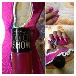 Expert Review: Maybelline colour show, Kiss me Pink, 003 | All About Women | Scoop.it