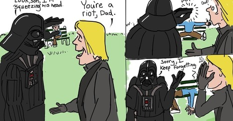 What Would Happen if Darth Vader and Luke Skywalker Hung Out? | MOVIES VIDEOS & PICS | Scoop.it