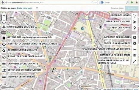 Comment créer des CARTES personnalisées sur des fonds #OpenStreetMap | Machines Pensantes | Scoop.it