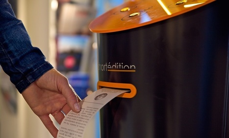 Short story vending machines press French commuters' buttons | Smart Media | Scoop.it
