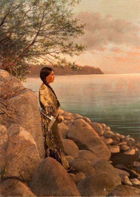 Les Indiens d'Amérique reviennent à la vie grâce à la photographie | Actuphoto | Jaclen 's photographie | Scoop.it