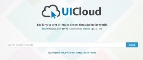 ui-cloud, un buscador de recursos para diseñadores web | Creación y gestión de Aplicaciones Web & Móvil | Scoop.it