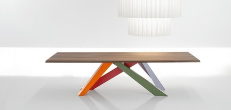 Big Table Fix - Walls-Interiors   News from Italy about Design & 3D Graphic   Scoop.it