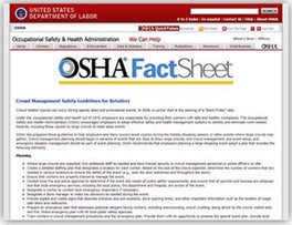 OSHA News Release: Crowd management measures are critical ... | Sports Facility Management.4397500 | Scoop.it