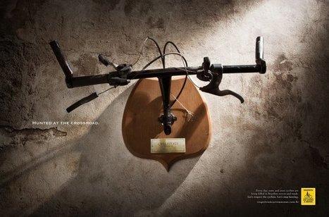 Campagna di sensibilizzazione brasiliana sugli incidenti che coinvolgono i ciclisti | ■Marketing Creativo - ADV - Campaign | Scoop.it