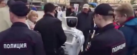 A robot was just 'arrested' by Russian police | Knowmads, Infocology of the future | Scoop.it