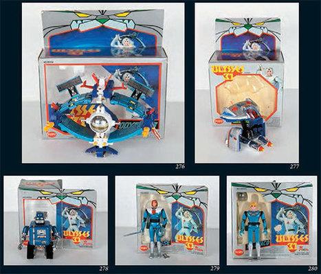 ToyzMag.com » Made In Japan : Capitain Flam, Ulysse 31, Inspecteur Gadget … les jouets   Vente aux encheres mobilier  design et pop culture   Scoop.it