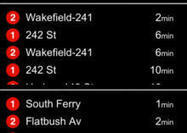 New iOS app shows NY subway arrival times - CNET | iPhones and iThings | Scoop.it