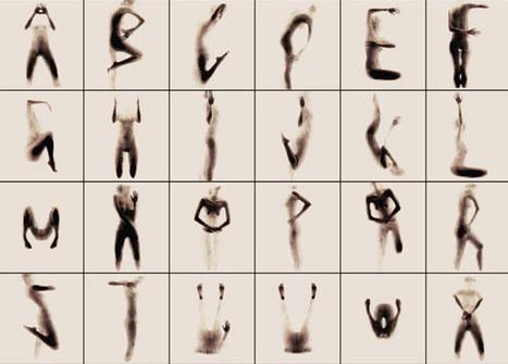 naked silhouette alphabet by anastasia mastrakouli   Ancient Origins of Science   Scoop.it