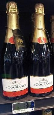Carrefour revoit le packaging de son champagne MDD - Rayon-Boissons.com | wine & champagne marketing | Scoop.it
