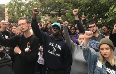 'Racism at AU is bananas': Hundreds protest incidents on American U. campus | digital divide information | Scoop.it