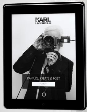 Karl Lagerfeld ouvre un concept store connecté à Paris | Magasins connectés | Scoop.it