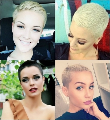 Zes heerlijke haarstijlen speciaal voor meiden met kort haar  - Colourful Rebel | The young & restless | Kapsels voor vrouwen | Scoop.it
