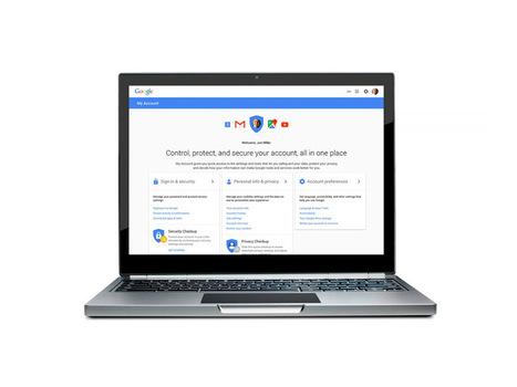 Google Mon compte : un tableau de bord pour renforcer la confidentialité des données   Tableau de bord de gestion   Scoop.it