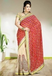 New Printed Chiffon Saree Design Collection 2015 | newteenstyle | Scoop.it