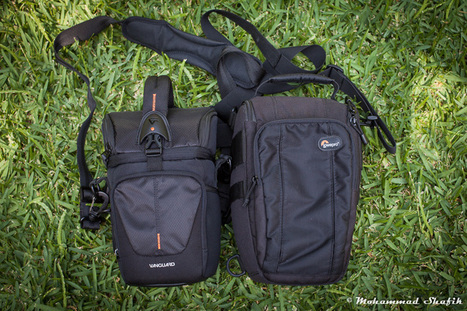 Review: Vanguard Up-Rise 15Z vs Lowepro TopLoader 55AW | Tripods, support, flters etc. | Scoop.it