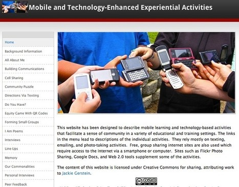Experiential Mobile Learning Activities: Presentation Materials | Explore Ed Tech | Scoop.it