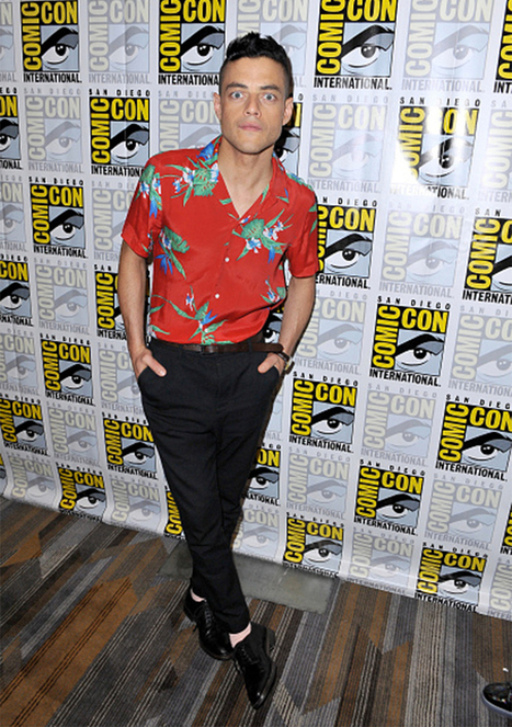 Rami Malek wearing the 'J' | Le Marche & Fashion | Scoop.it