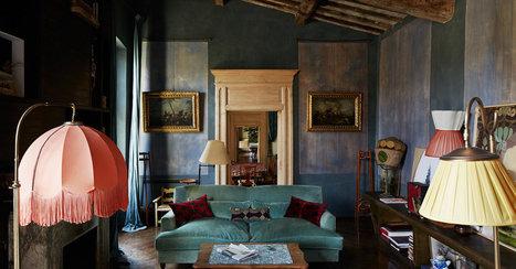 An Ancient Tuscan Farm Turned Magical, Bohemian Home | Italia Mia | Scoop.it