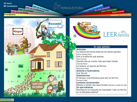 Leer en familia | Bibliotecas Escolares Argentinas | Scoop.it