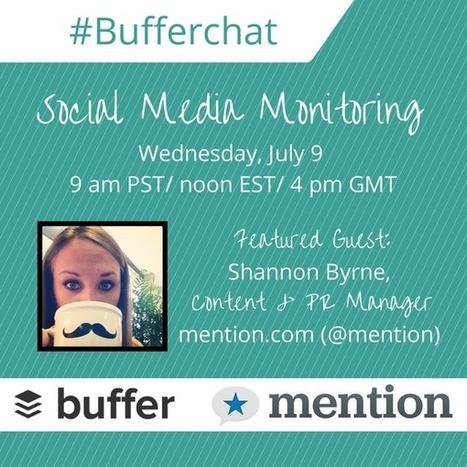 Tweet from @buffer | Social Media | Scoop.it