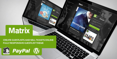 Matrix - Event Guest List WordPress Theme (Marketing) Download - PROFIREFOX | that sas music | Scoop.it