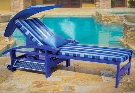 GADGET OF THE WEEK-Solar Powered Entertainment Lounger lets you chill without energy worries | IBIN Sustainable Energy News | Scoop.it